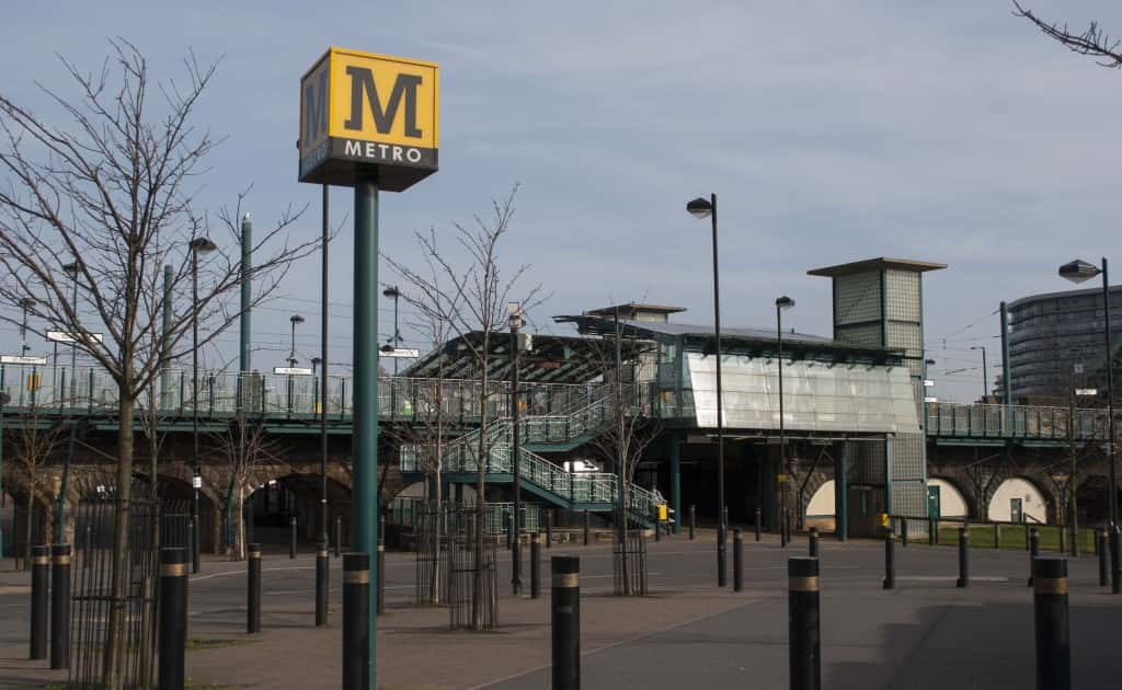 Metro is now running between Sunderland and East Boldon but delays expected