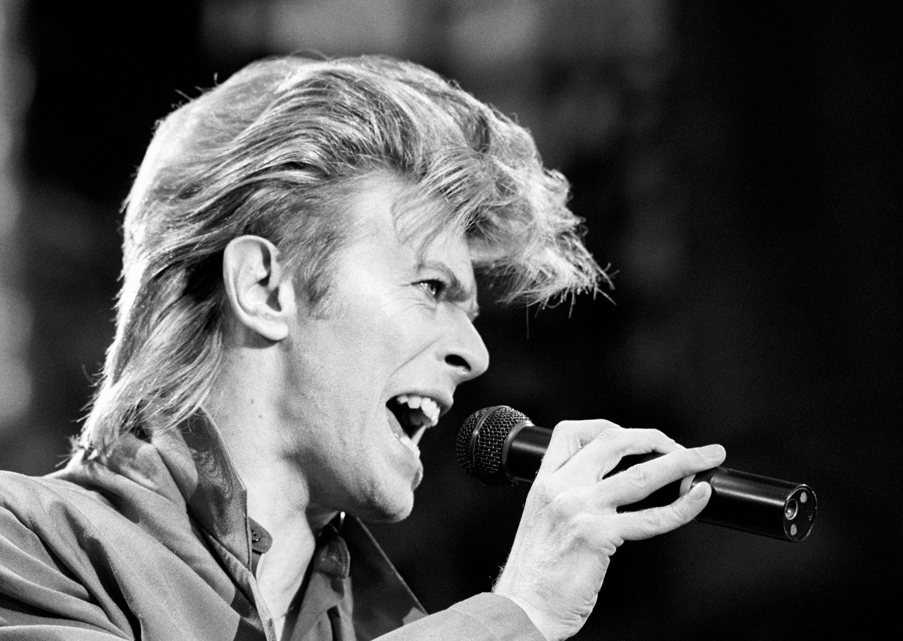 File photo dated 19/06/87 of David Bowie, who has died following an 18-month battle with cancer.