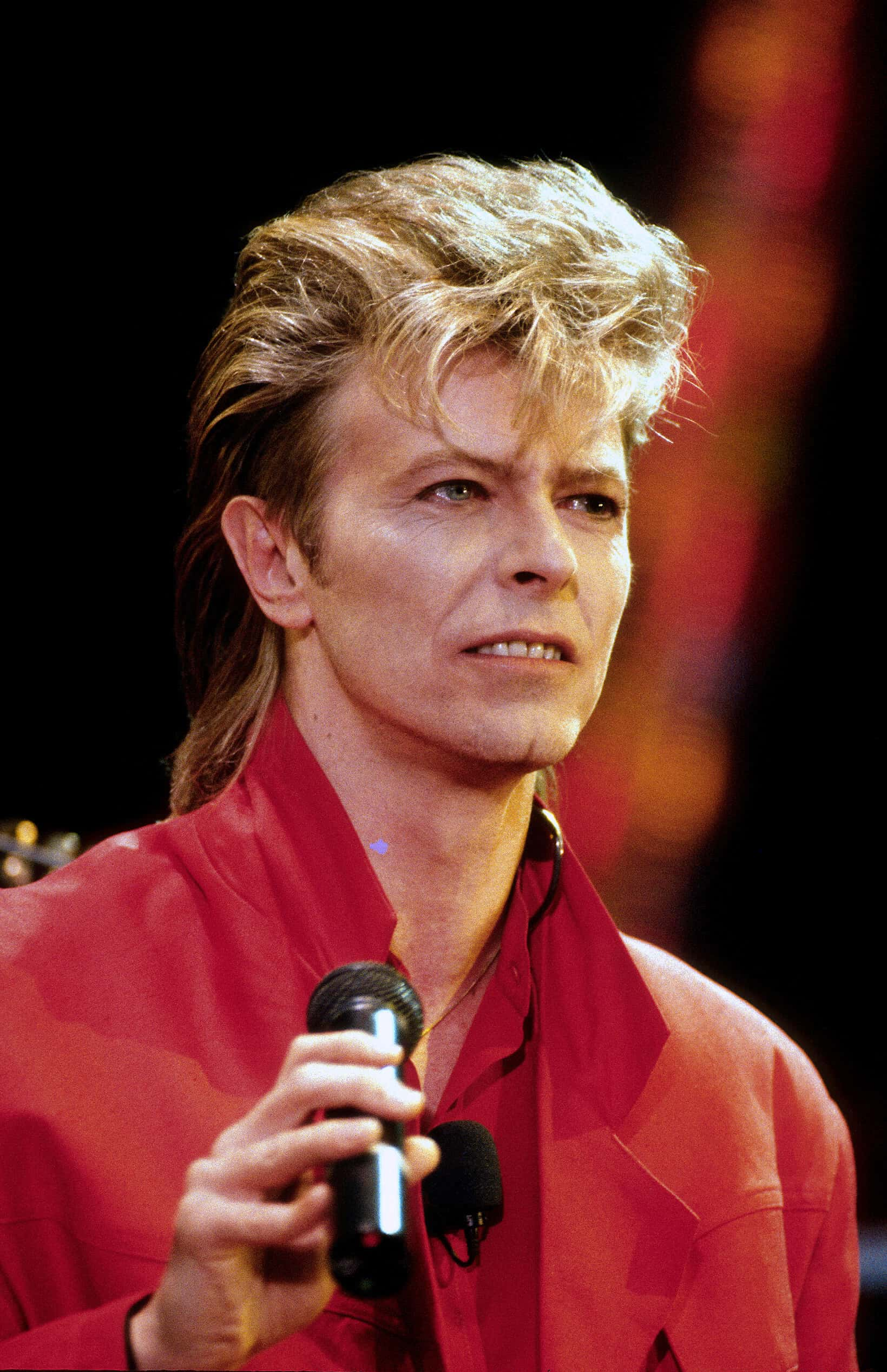 Picture by: Anwar Hussein/EMPICS Entertainment / David Bowie in concert in 1987.