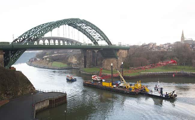 River work starts on Sunderland's new bridge