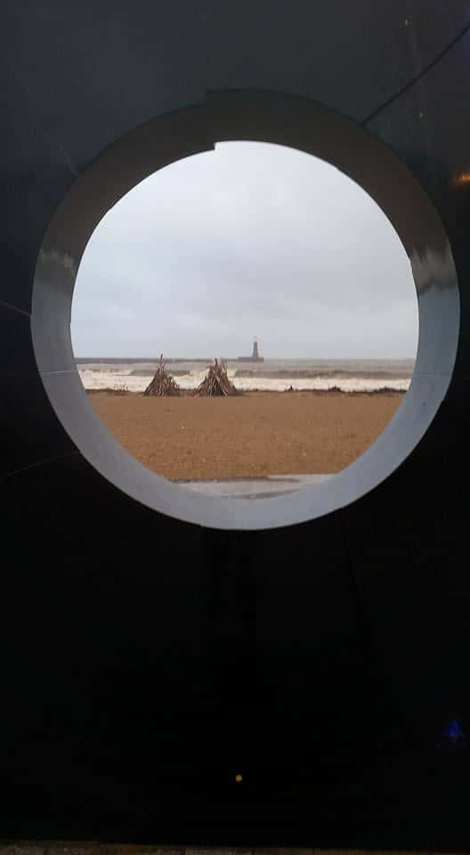 Wooden structures appear on Sunderland's Roker beach: Do you know who have built them?