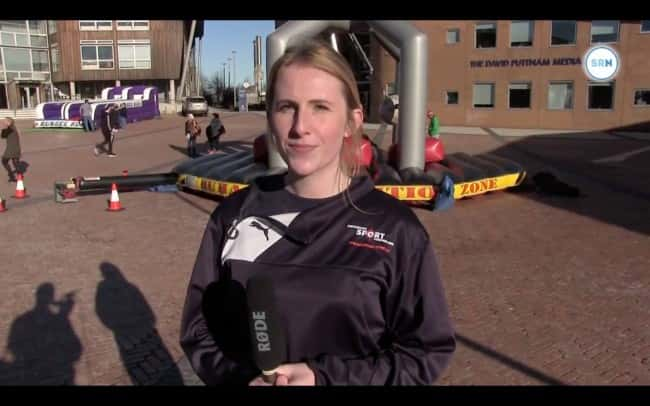 Day of fun at Sunderland University in bid to get more students active
