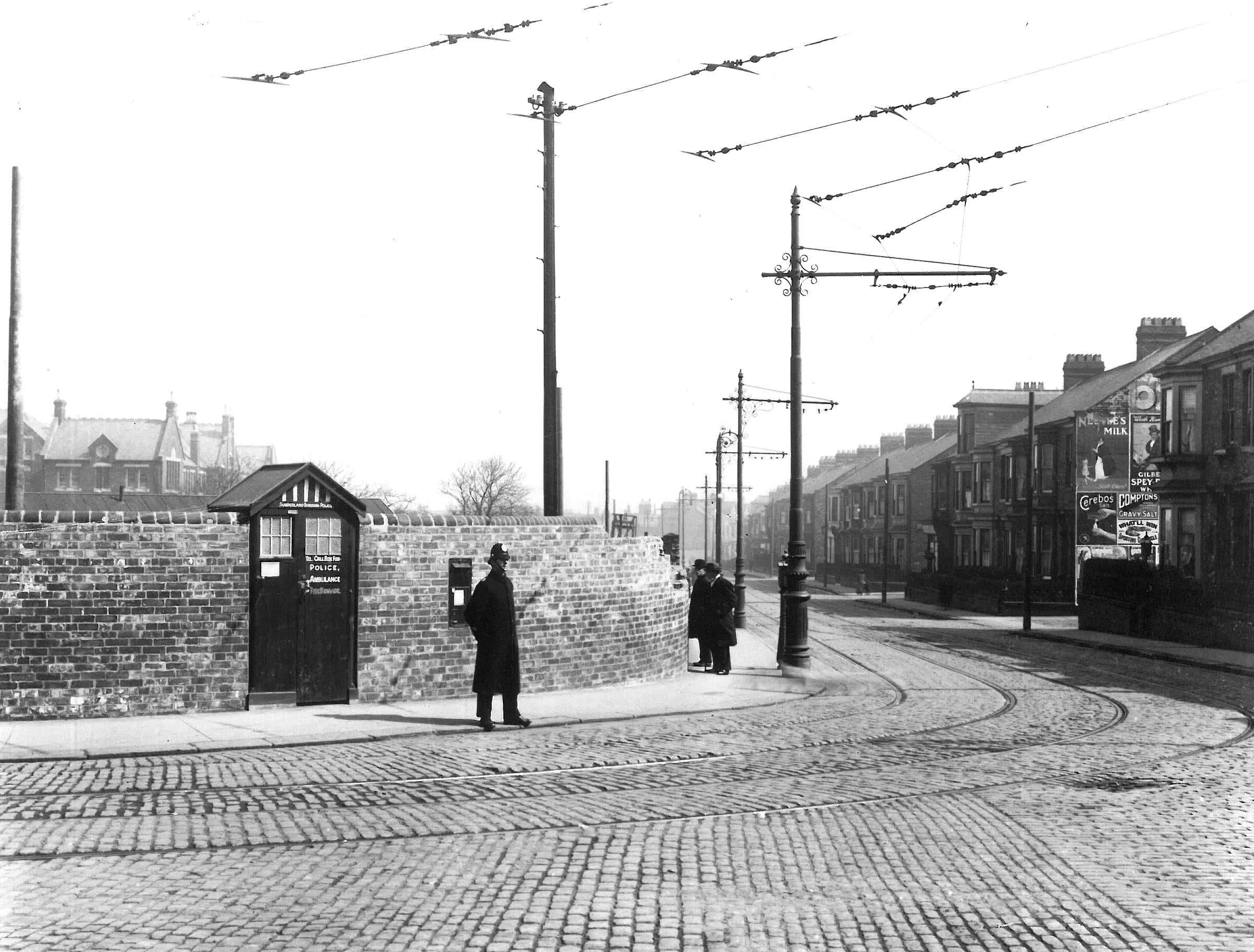 Photo: Pictured is the original police box at Kayll Road/Sorted PR.