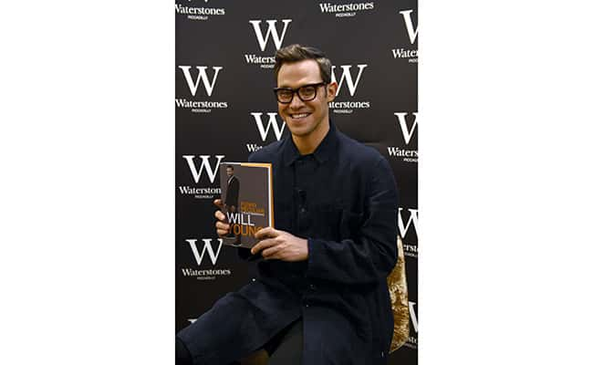 Picture: Will Young visits Waterstones in Piccadilly, London, to read excerpts from his autobiography 'Funny Peculiar' to a select audience./Jonathan Brady / PA Archive/Press Association Images.