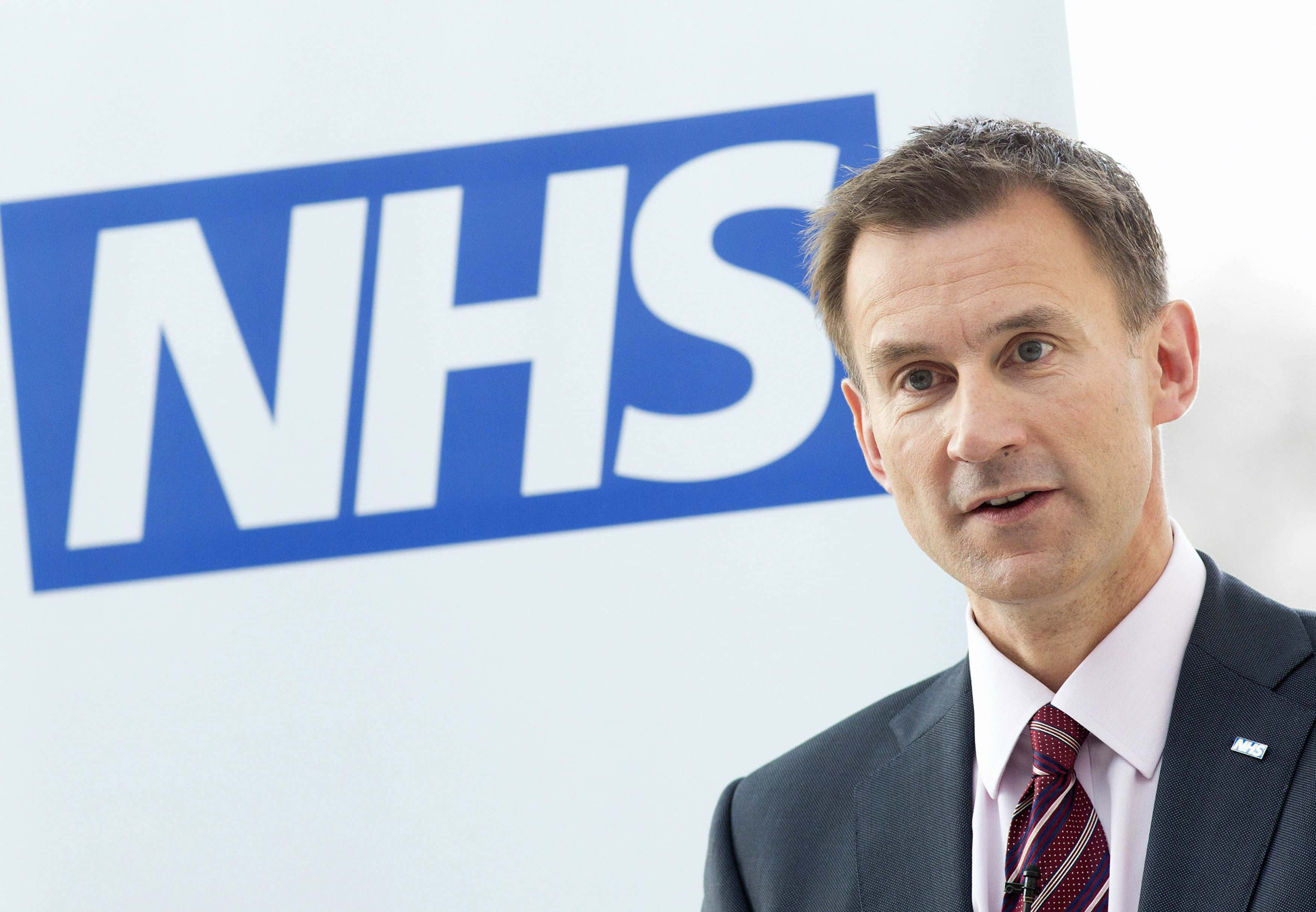 Jeremy Hunt, ex-health Secretary and now Commons Health Committee chairman.