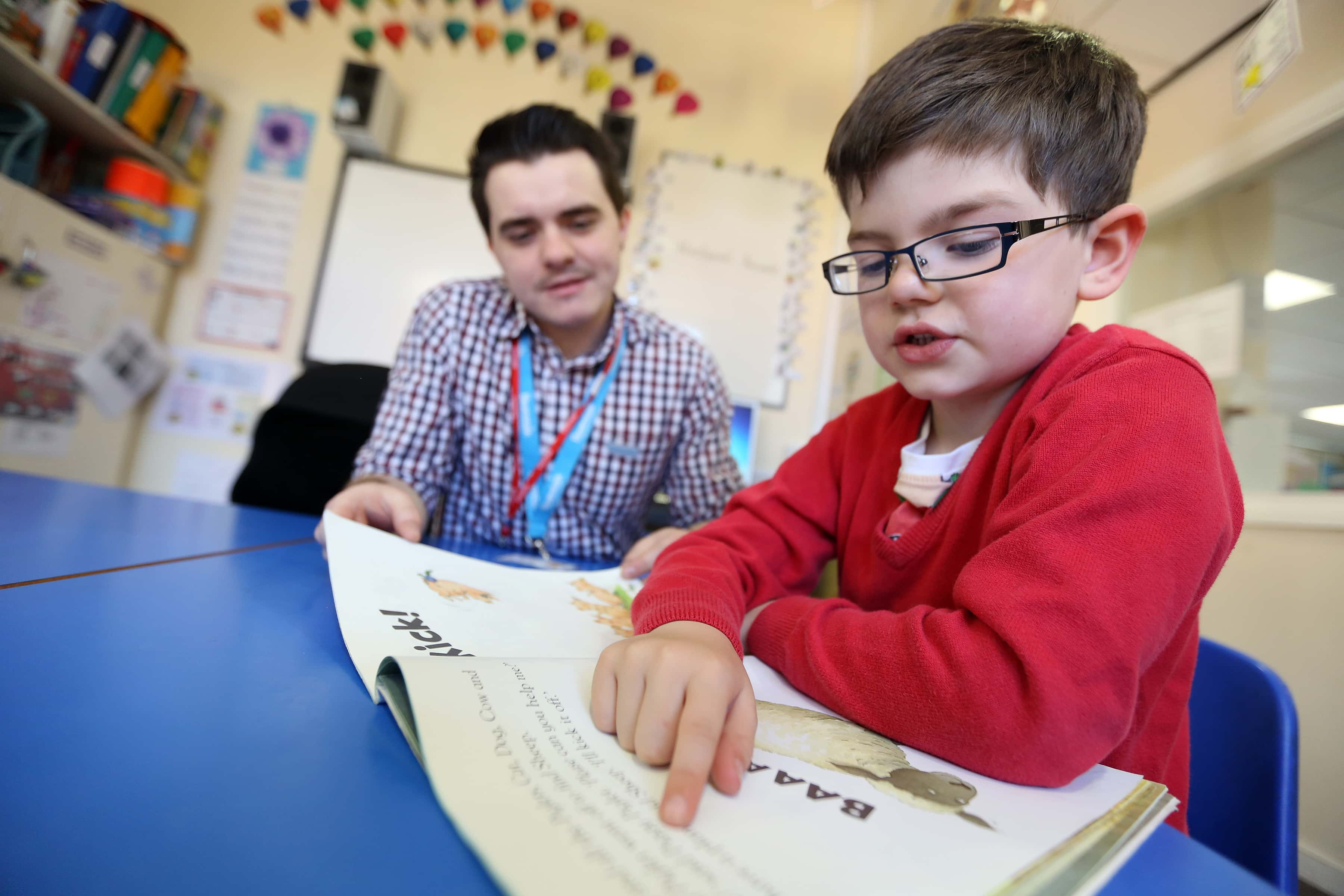 Beanstalk literacy charity aspire for greater results in North East
