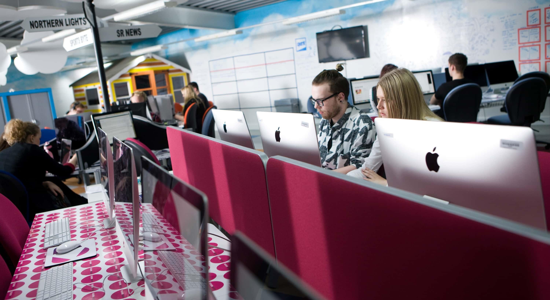 Experience the journalism industry inside Sunderland's mediaHUB