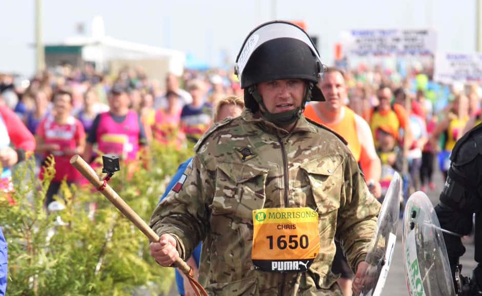 Chris Collier is a Captain in the Army's Parachute Regiment