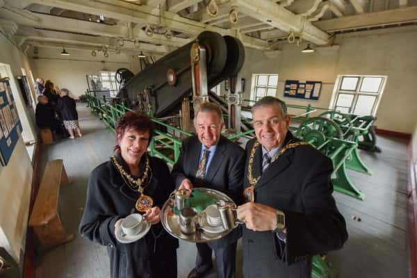 Sunderland Mayor launches charity event at Ryhope Engines Museum