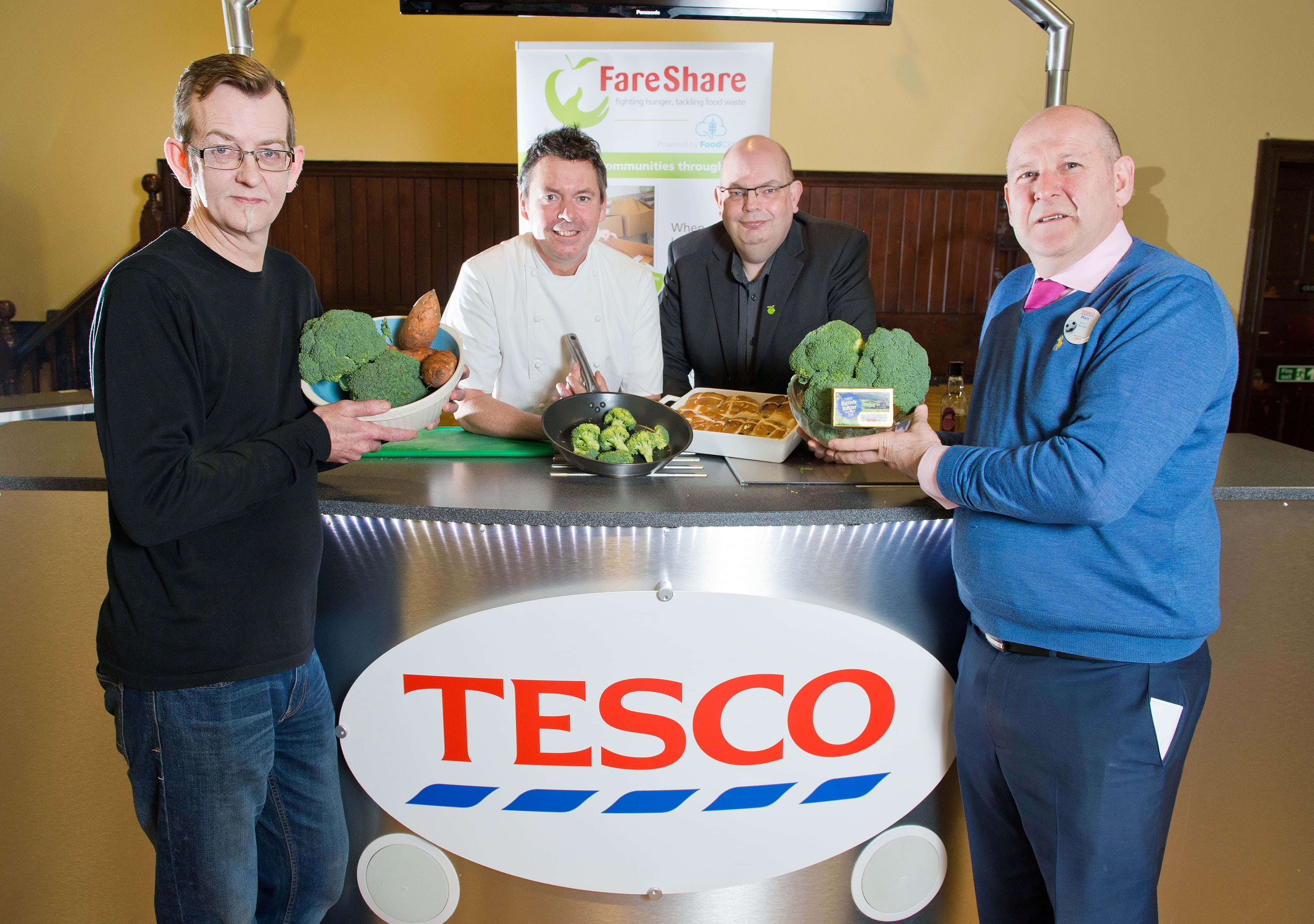 Tesco stores launch food donation scheme across the North East