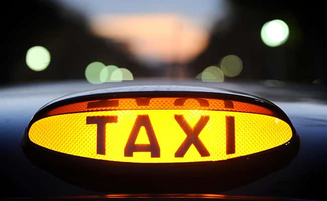 A light on a taxi as NHS trusts are spending millions of pounds every year on taxis for patients./ Picture by: Dominic Lipinski / PA Wire/Press Association Images