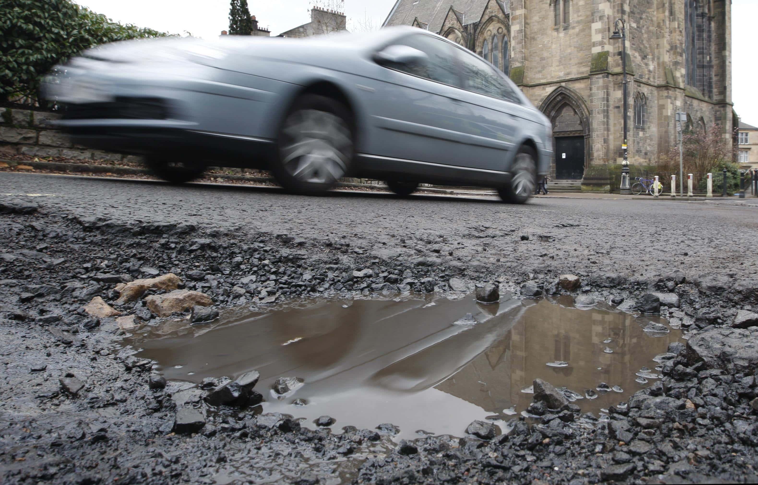 Council Disagree Over Sunderland Potholes