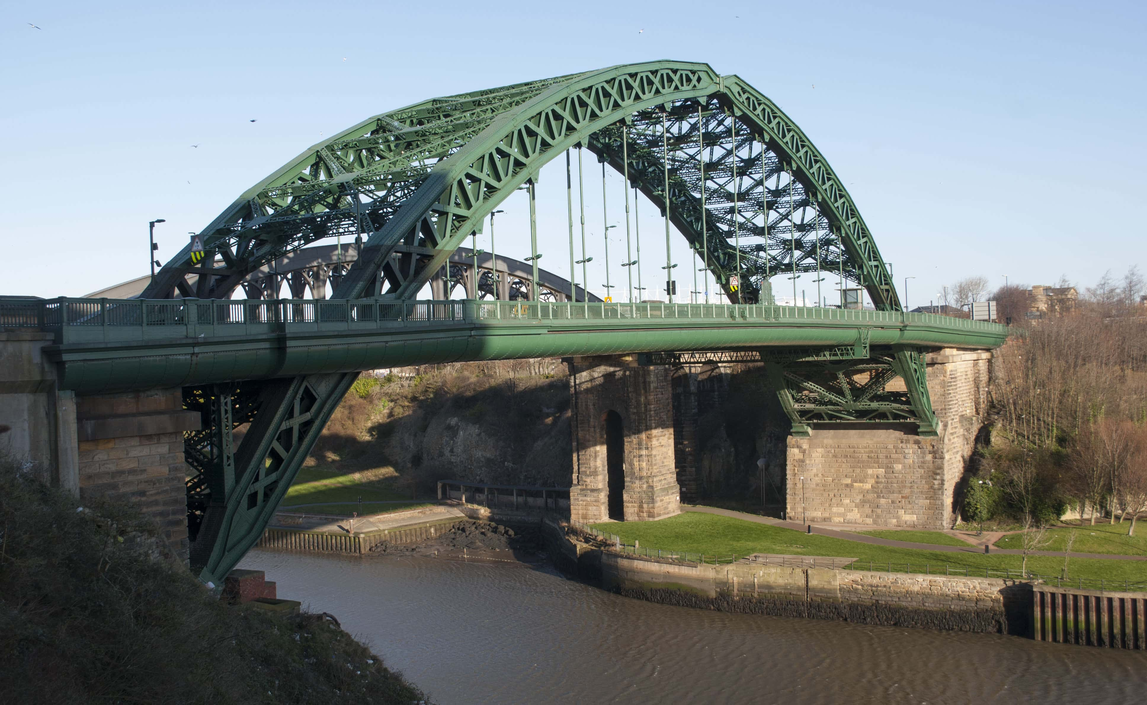 Man in critical condition after falling from Wearmouth Bridge