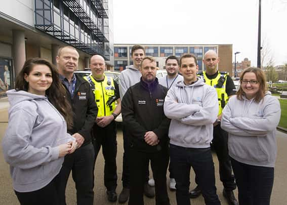 Northumbria Police team up with the University of Sunderland to help keep students safe