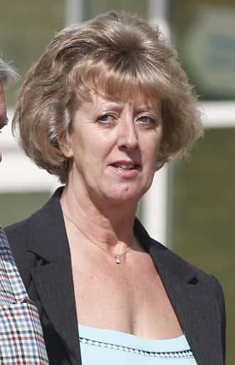 Photo: Retired Chief Constable of Northumberland Police Sue Sims arrives at the North Tyneside Tribunal Court for the unfair dismissal tribunal of police solicitor Denise Aubrey.