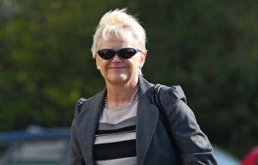 Photo: Former Northumberland police solicitor Denise Aubrey arrives at North Tyneside Tribunal Court for her unfair dismissal tribunal. /Photo by: Picture by: Owen Humphreys / PA Wire/Press Association Images