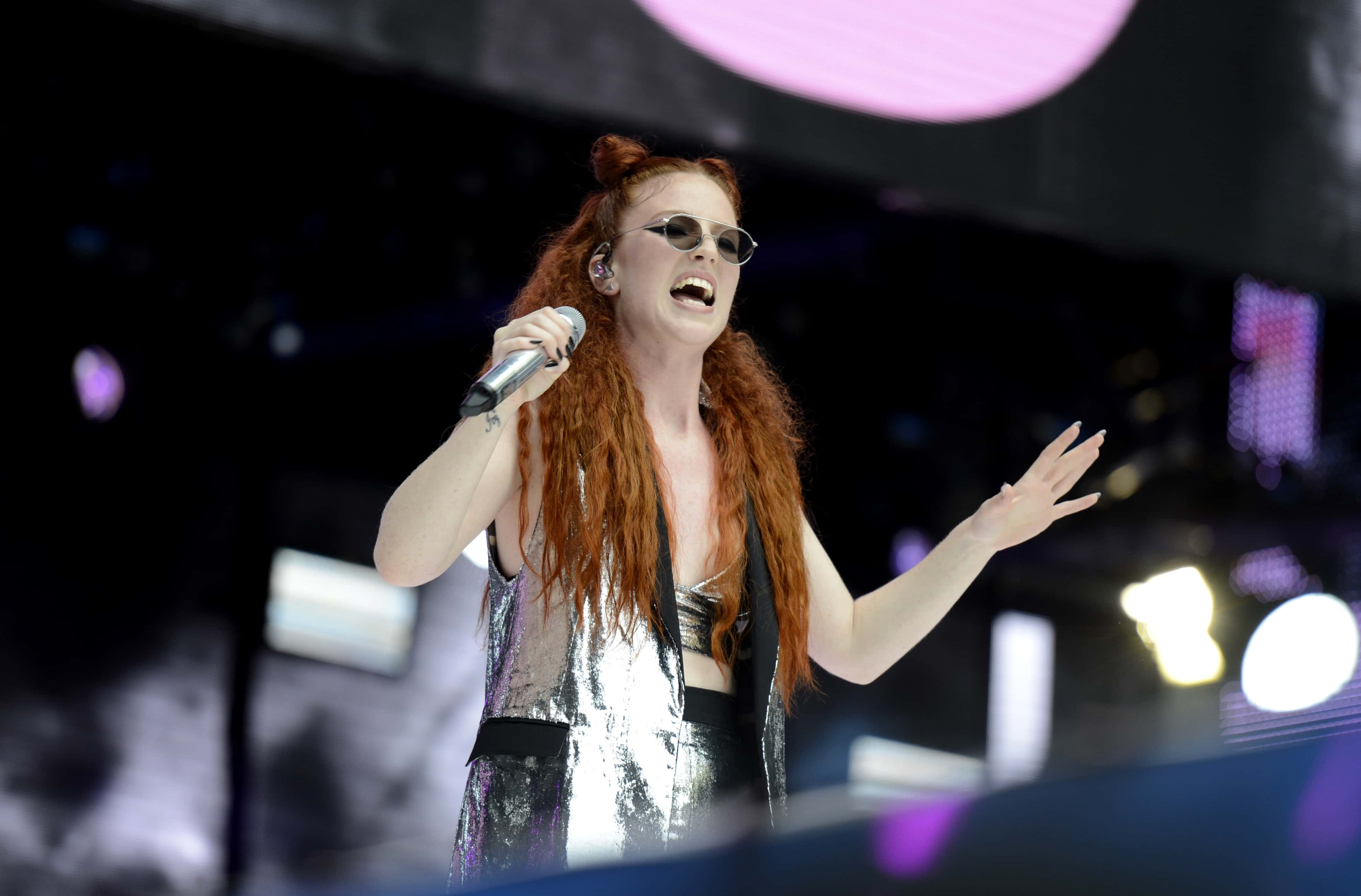 Jess Glynne performing at thw weekend in London. Photo: Ryan Phillips/PA Wire