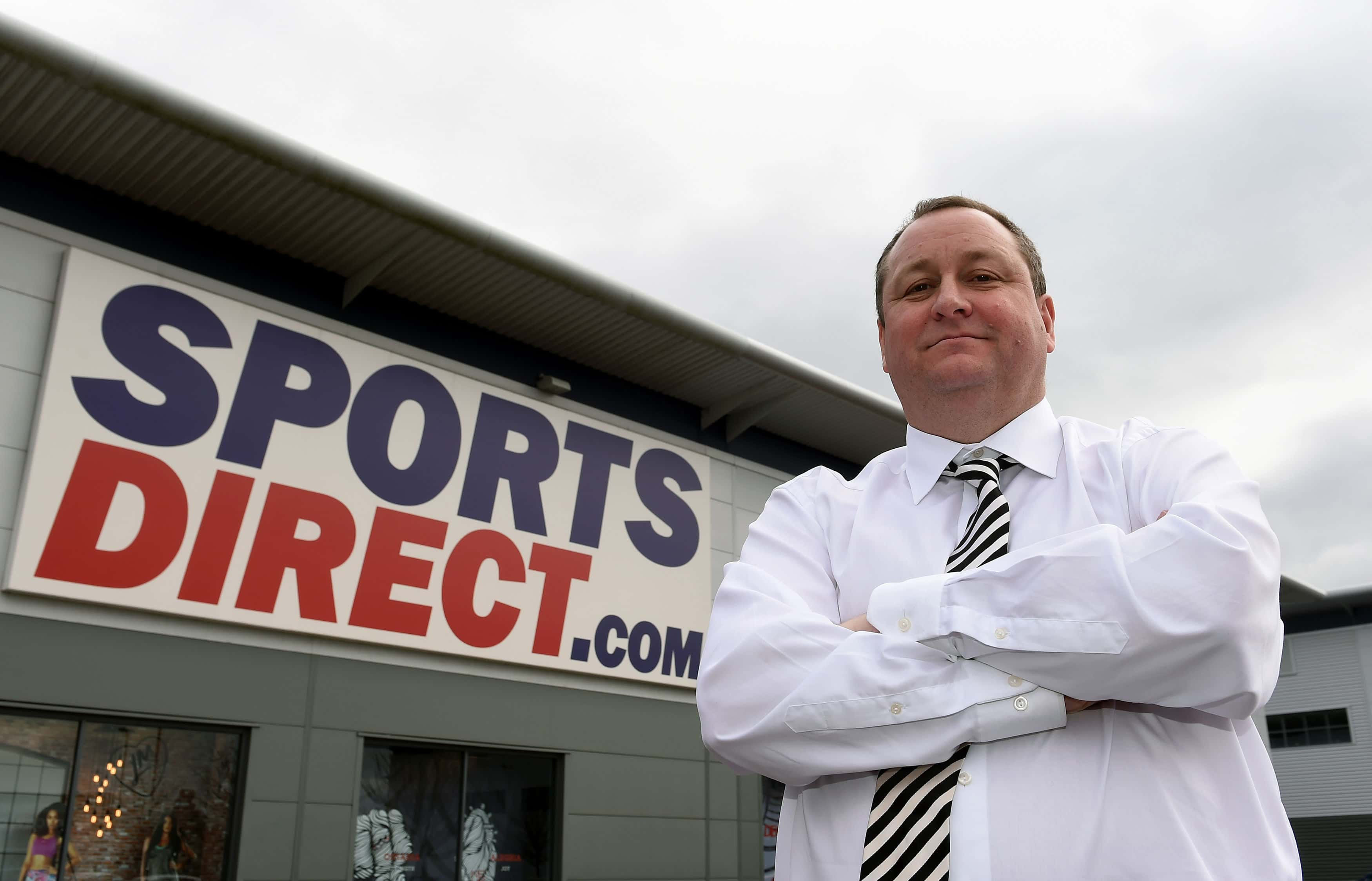 Mike Ashley is the founder of Sports Direct and owner of Newcastle United.  Picture by: Joe Giddens / PA Wire/Press Association Images