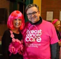Cancer survivor takes part in midnight walk to raise awareness for breast cancer