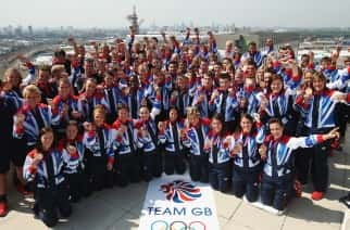 Sunderland athletes join Rio Olympic parade