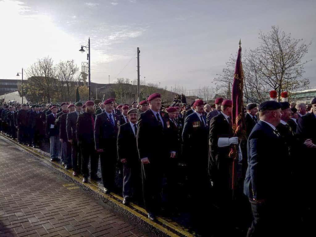 Remembrance Sunday parade held at Mowbray Park – SR News