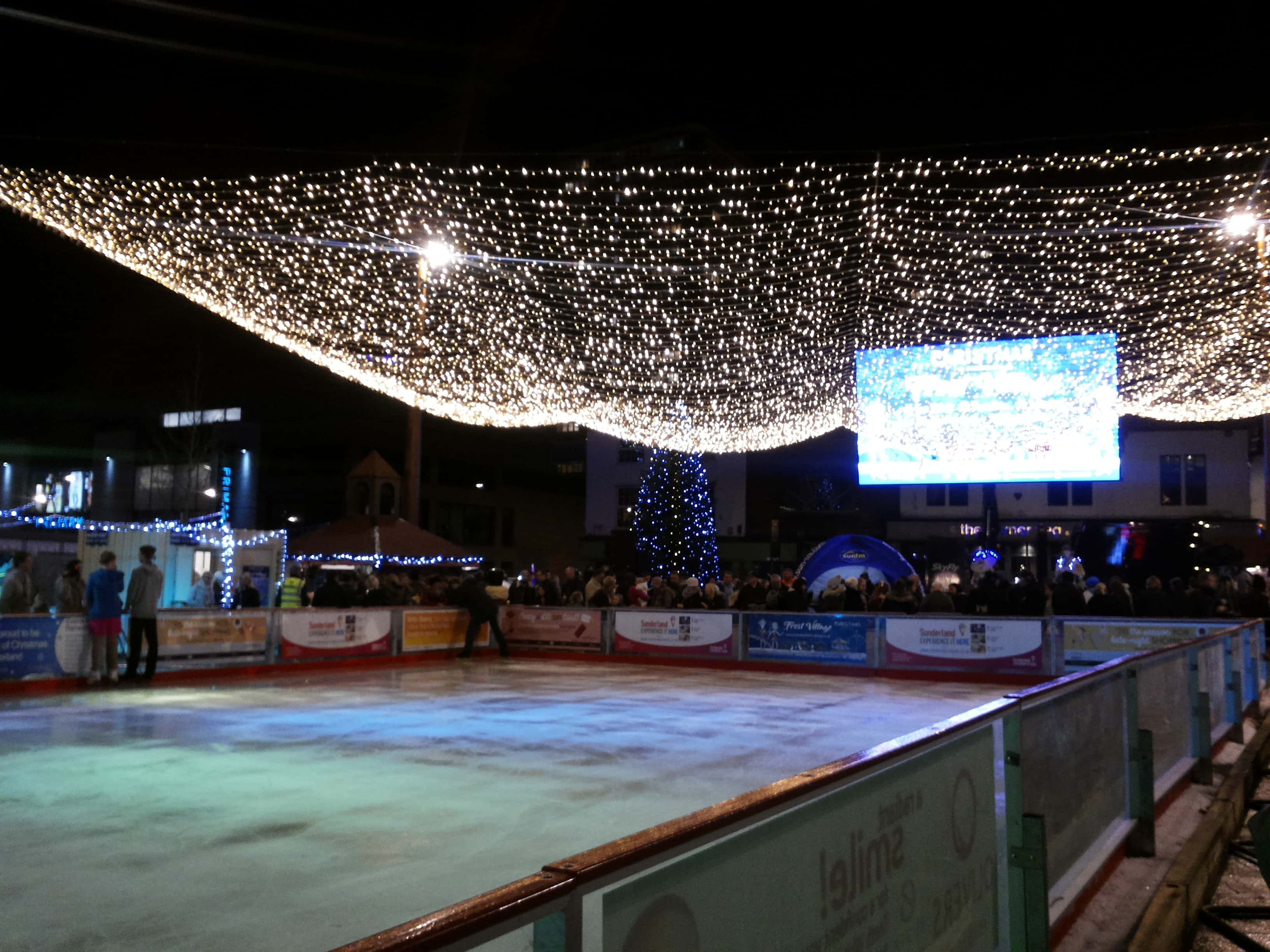 Ice rink, Keel Square Photo by Stela Taneva