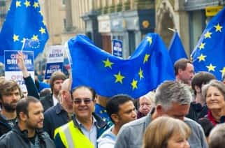 Remain rally in Newcastle