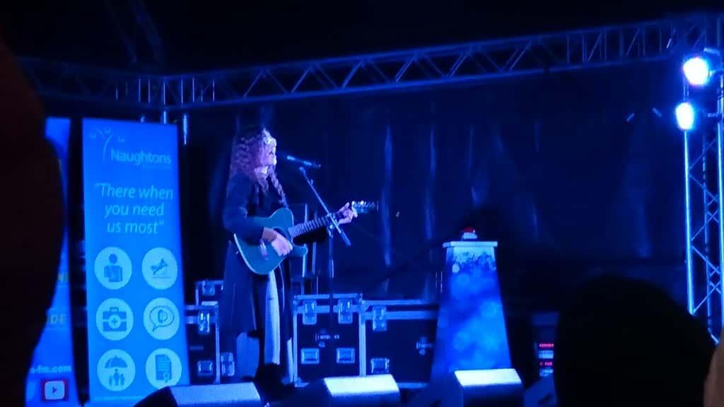 Chloe Castro performs