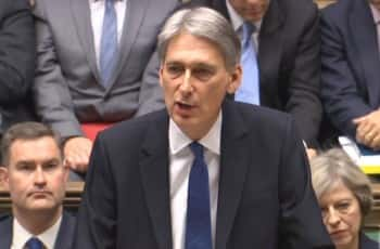 Chancellor Philip Hammond delivers his Autumn Statement in the House of Commons, London/photo by PA/PA Wire/PA Images.