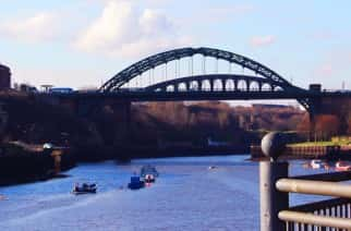 Wearmouth Bridge in Sunderland Credit: Gloria Kong