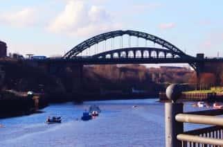 Wearmouth Bridge in Sunderland Credit: Gloria Kong