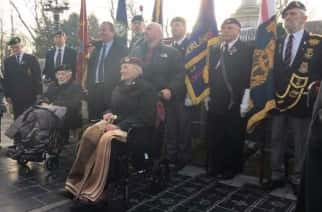 Veterans' Walk: Heroes commemorated by new pathway at Mowbray Park