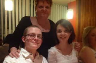 The Skeen/Dodgson family/photo by Bethany Dodgson.
