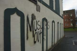 Islamophobic graffiti scrawled across Sunderland mosque