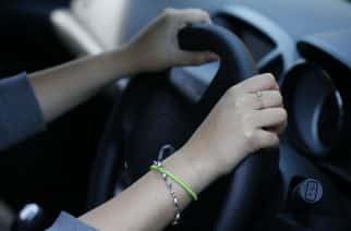 PICTURE POSED BY MODEL File photo dated 13/08/14 of a woman driving. Thousands of teenagers had their driving licences revoked in the past five years after receiving at least six penalty points, new figures show.