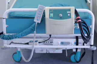 A hospital bed. Picture by Lynne Cameron PA Wire/PA Images.