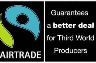 EMBARGOED TO 0001 MONDAY FEBRUARY 25  Undated handout of the Fairtrade Mark. Sales of Fairtrade products in the UK soared to 493 million last year - up 81% on 2006, figures out today show.