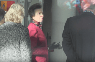 Princess Anne Visits Newcastle City Library