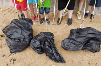 Summer beach camp enlists the help of locals to clean up Sunderland's shores