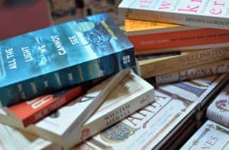 File photo dated 11/0/15 of a pile of books, as secondary school pupils are reading books that are too easy for them, according to a study.