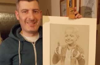 EXCLUSIVE: Sunderland fan Bradley Lowery to receive portrait by North East artist at charity football match