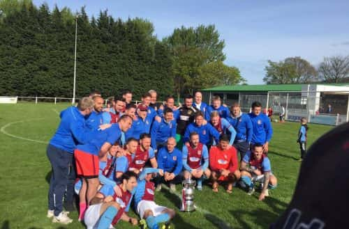 South Shields FC lift Ebac Northern League Division One Trophy after win at Guisborough Town: Reaction