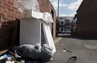 The top 10 fly-tipping hotspots in Sunderland revealed