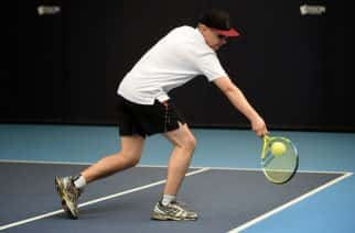 North East Visually Impaired player David Deas from Newcastle Upon Tyne