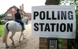 The weird and the wonderful around the polls