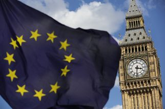 File photo dated 02/07/16 of a European Union flag in front of Big Ben. The prospect of a hung Parliament would throw serious doubt over Brexit negotiations, due to begin in earnest in just 10 days. PRESS ASSOCIATION Photo. Issue date: Friday June 9, 2017. See PA story ELECTION Brexit. Photo credit should read: Daniel Leal-Olivas/PA Wire