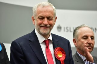Corbyn romps home – then calls on May to resign
