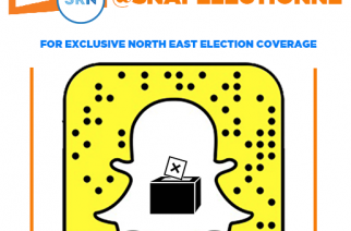 Add SnapElectionNE on Snapchat for North East election coverage #HubElect2017