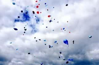 WATCH: Balloon release at Sunderland Stadium of Light for Bradley Lowery