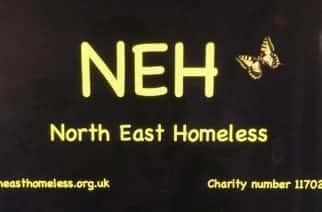 Support: North East Homeless (NEH) supports people who are homeless within the North East/photo credit: NEH.